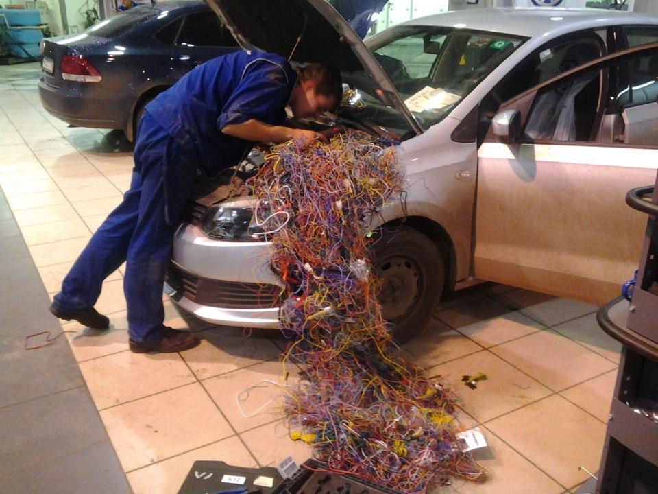 Ремонт электрики в автомобиле своими руками 43